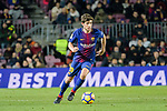 Sergi Roberto of FC Barcelona in action during the La Liga 2017-18 match between FC Barcelona and Deportivo La Coruna at Camp Nou Stadium on 17 December 2017 in Barcelona, Spain. Photo by Vicens Gimenez / Power Sport Images