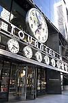 Clocks, Tourneau, Midtown, New York, New York