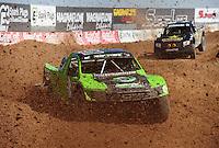 Mar. 18, 2011; Chandler, AZ, USA;  LOORRS pro 2 unlimited driver Nick Tyree during qualifying for round one at Firebird International Raceway. Mandatory Credit: Mark J. Rebilas-