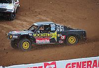 Mar. 20, 2011; Chandler, AZ, USA;  LOORRS pro four driver Kyle Leduc during round two at Firebird International Raceway. Mandatory Credit: Mark J. Rebilas-