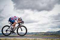 Ethan Hayter (GBR)<br /> <br /> Men's Elite Road Race from Imola to Imola (258km)<br /> <br /> 87th UCI Road World Championships 2020 - ITT (WC)<br /> <br /> ©kramon