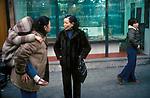 Chinese People Gerrard Street Soho London  England 1970s immigrant community UK