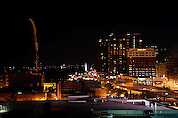 St. Louis at night.