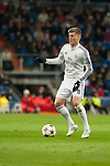 Toni Kroos of Real Madrid during Champions League match between Real Madrid and Ludogorets at Santiago Bernabeu Stadium in Madrid, Spain. December 09, 2014. (ALTERPHOTOS/Luis Fernandez)