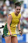 GER - Mannheim, Germany, May 24: During the U16 Girls match between Australia (green) and Germany (white) during the international witsun tournament on May 24, 2015 at Mannheimer HC in Mannheim, Germany. Final score 0-6 (0-3). (Photo by Dirk Markgraf / www.265-images.com) *** Local caption *** Emma Corcoran #7 of Australia