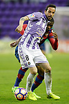 Real Valladolid's Andre Leao (f) and Levante UD's Jefferson Lerma during La Liga Second Division match. March 11,2017. (ALTERPHOTOS/Acero)