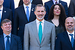 King Felipe IV of Spain in audience with <br /> participants in the 16th edition of the program of young Latin American leaders of the Carolina Foundation. September 24, 2019.. (ALTERPHOTOS/ Francis Gonzalez)