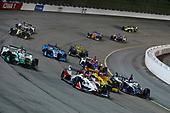 Marco Andretti, Andretti Herta with Marco & Curb-Agajanian Honda, Ryan Hunter-Reay, Andretti Autosport Honda