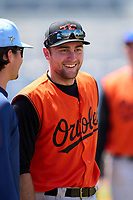 FCL Orioles Orange Colton Cowser (44) after a game against the FCL Rays on August 2, 2021 at Charlotte Sports Park in Port Charlotte, Florida.  (Mike Janes/Four Seam Images)