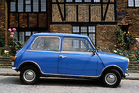 Car: A Mini Cooper, profile.