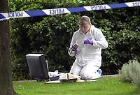 Police Forensics and crime scene investigation