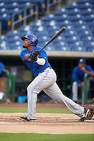 GCL Blue Jays designated hitter Francisco Rodriguez (55) at bat during a game against the GCL Phillies on August 16, 2016 at Bright House Field in Clearwater, Florida.  GCL Blue Jays defeated GCL Phillies 2-1.  (Mike Janes/Four Seam Images)