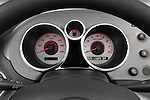 Instrument panel close up detail view of a 2008 Pontiac Solstice