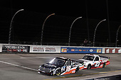 #18: Christian Eckes, Kyle Busch Motorsports, Toyota Tundra Safelite AutoGlass #23: Brett Moffitt, GMS Racing, Chevrolet Silverado Superior Essex