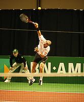 18-2-06, Netherlands, tennis, Rotterdam, ABNAMROWTT, Jeam-Rene Lisnard