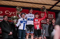 Marta Bastianelli (ITA/Team Virtu Cycling) wins the 2019 Omloop van het Hageland <br /> <br /> 133km from Tienen to Tielt - Winge (BEL)<br /> <br /> ©JoJo Harper for Kramon