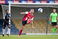 Lewis Page of Exeter City puts the ball quickly forward during Southend United vs Exeter City, Sky Bet EFL League 2 Football at Roots Hall on 10th October 2020