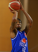 Saints' Kerwin Roach Jr in action during the National Basketball League Final Four final between Wellington Saints and Hawkes Bay Hawks at Te Rauparaha Arena in Porirua, New Zealand on Friday, 23 July 2021. Photo: Dave Lintott / lintottphoto.co.nz