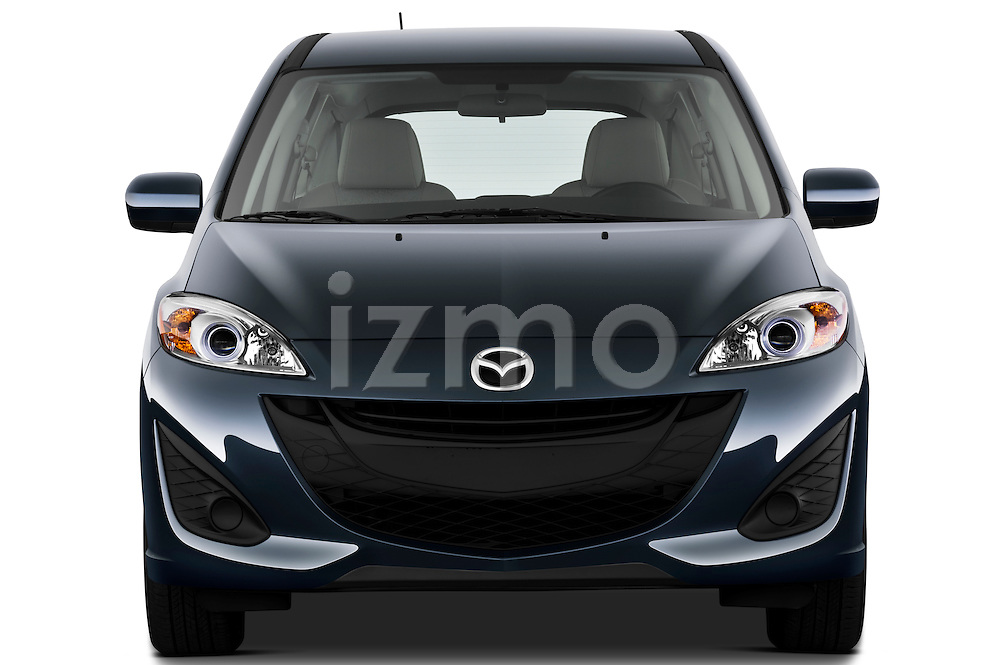 Straight front view of a 2012 Mazda Mazda5