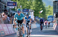 Pello Bilbao (ESP/Astana) wins the queen stage through the Dolomites<br /> <br /> Stage 20: Feltre to Croce D'Aune-Monte Avena (194km)<br /> 102nd Giro d'Italia 2019<br /> <br /> ©kramon