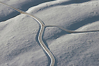 Winter mountain road, near Westcliffe, Colorado. Feb 2013. 82513