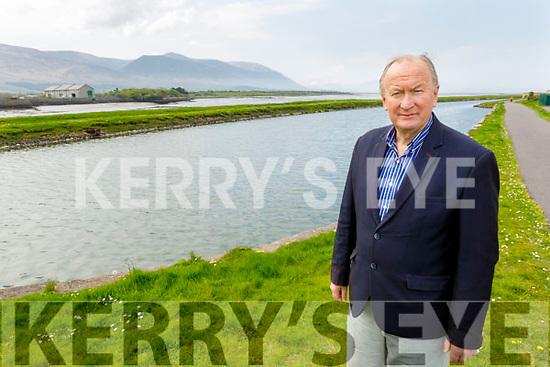 Cllr: Jim Finucane (Mayor of Tralee) pictured in Blennerville on Friday.