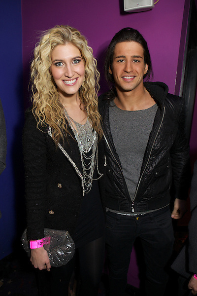 Francesca Hull and Ollie Locke at The Maggie's Nightclub premiere of The Iron Lady at the Cineworld Cinema on the King's Road in Chelsea