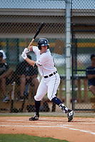 Detroit Tigers Ryan Kreidler (60) at bat during an Instructional League instrasquad game on September 20, 2019 at Tigertown in Lakeland, Florida.  (Mike Janes/Four Seam Images)