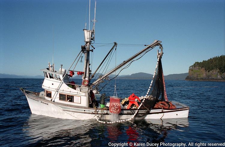The F/V Dreamboat Annie, salmon seiner, Kodiak, Alaska