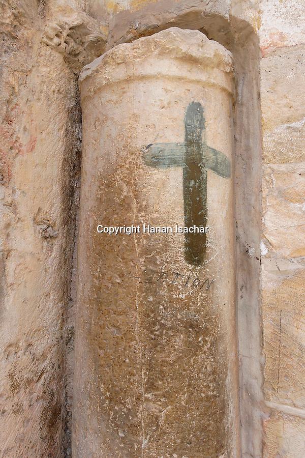 Jerusalem, the Old City, Israel, The Ninth Station of the Via Dolorosa<br />