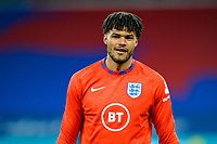 25th March 2021; Wembley Stadium, London, England;  Tyrone Mings England during warm up prior to the World Cup 2022 Qualification match between England and San Marino at Wembley Stadium in London, England.