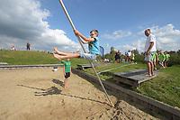 FIERLJEPPEN: HEERENVEEN: Sportstad, 29-08-2019, Fierljepclinic, ©foto Martin de Jong