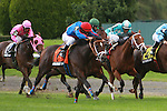 Shkspeare Shaliyah & Alex Solis win the Grade III Pilgrim Stakes for 2 year olds, 1 1/16 mile on the turf. Trainer Doodnauth Shivmangal. Owner Shivmangal Racing Stable, Llc.