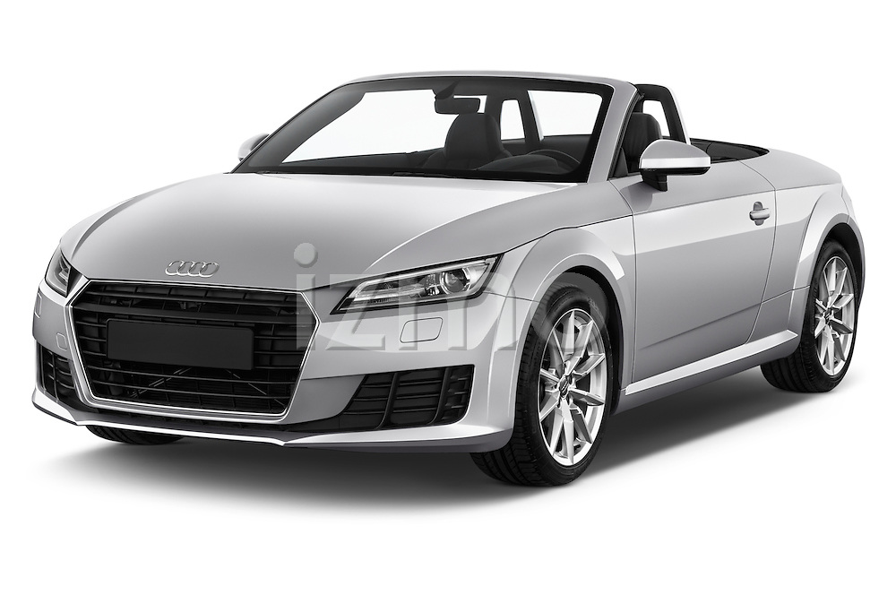2016 Audi TT-Roadster - 2 Door Convertible Angular Front stock photos of front three quarter view