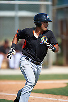 Miami Marlins Brad Haynal (35) during a minor league Spring Training intrasquad game on March 31, 2016 at Roger Dean Sports Complex in Jupiter, Florida.  (Mike Janes/Four Seam Images)