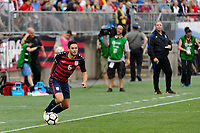 East Hartford, CT - Saturday July 01, 2017: Kelyn Rowe during an international friendly match between the men's national teams of the United States (USA) and Ghana (GHA) at Pratt & Whitney Stadium at Rentschler Field.