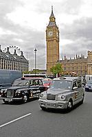 Taxi londrino. Londres. Inglaterra. 2008. Foto de Juca Martins.