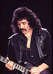 Black Sabbath 1984 Tony Iommi..© Chris Walter....