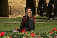 1 October 2007: Erin Bell during picture day in Stanford, CA.