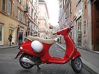 Vespa in Rome