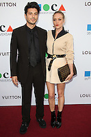 LOS ANGELES, CA, USA - MARCH 29: Rene Navarrette, Chloe Sevigny at the MOCA's 35th Anniversary Gala Presented By Louis Vuitton held at The Geffen Contemporary at MOCA on March 29, 2014 in Los Angeles, California, United States. (Photo by Celebrity Monitor)