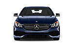 Car photography straight front view of a 2019 Mercedes Benz CLA CLA250 5 Door SUV