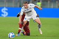3rd October 2021; Stadio Olimpico, Rome, Italy; Serie A football, AS Roma versus Empoli; Szymon Zurkowski of FC Empoli