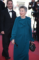 EMMANUELLE RIVA - RED CARPET OF THE FILM 'BLOOD TIES' AT THE 66TH FESTIVAL OF CANNES 2013