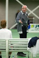 12-03-10, Rotterdam, Tennis, NOJK, 18 jaar, KNLTB official  Leo Lucas