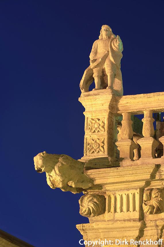 Spanien, Kastilien-Leon, Rathaus von Astorga in Palast aus dem 17. Jh.