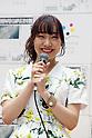 SKE48 member Akari Suda promotes Newspaper Week