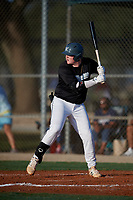 Jay Murdock (36) during the WWBA World Championship at Lee County Player Development Complex on October 8, 2020 in Fort Myers, Florida.  Jay Murdock, a resident of Dawson, Georgia who attends Terrell Academy, is committed to Mississippi State.  (Mike Janes/Four Seam Images)