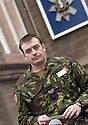 25/03/2003                   Copright Pic : James Stewart.File Name : stewart-black watch 08.SERGEANT MARK HUDSON OF THE BLACK WATCH READS OUT A STATEMENT ON BEHALF OF LANCE CORPORAL'S FAMILY.....James Stewart Photo Agency, 19 Carronlea Drive, Falkirk. FK2 8DN      Vat Reg No. 607 6932 25.Office     : +44 (0)1324 570906     .Mobile  : +44 (0)7721 416997.Fax         :  +44 (0)1324 570906.E-mail  :  jim@jspa.co.uk.If you require further information then contact Jim Stewart on any of the numbers above.........