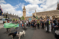 """31.05.2014 - """"The Great Badger Trail"""" Ends Outside The Parliament"""